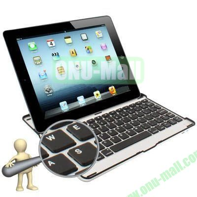 Bluetooth 3.0 Ultrathin Aluminum Keyboard for iPad Air (Black)