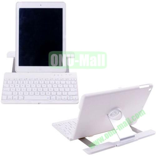 High Quality Aluminum Alloy Bluetooth Keyboard for iPad Air (White)