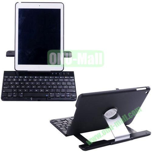 High Quality Aluminum Alloy Bluetooth Keyboard for iPad Air (Black)