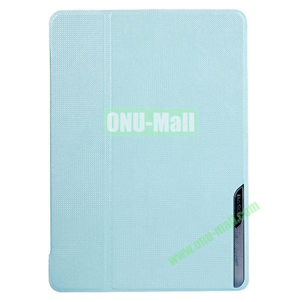 Baseus Brand Stand Leather Cover for iPad Air (Light Blue)
