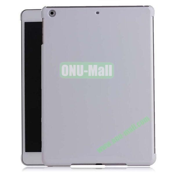 Simple Design Protective Hard Case for iPad Air (White)