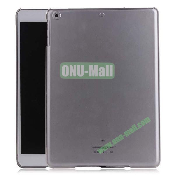 Simple Design Protective Hard Case for iPad Air (Transparent)