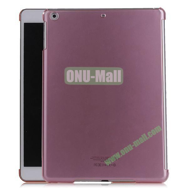 Simple Design Protective Hard Case for iPad Air (Pink)