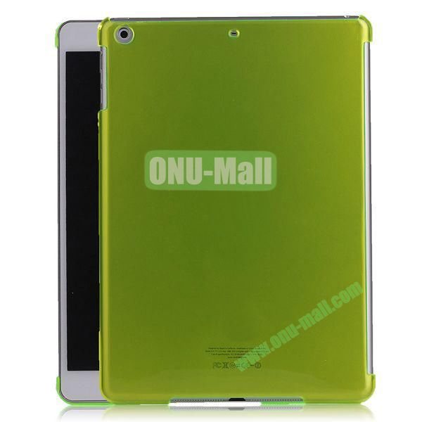 Simple Design Protective Hard Case for iPad Air (Green)