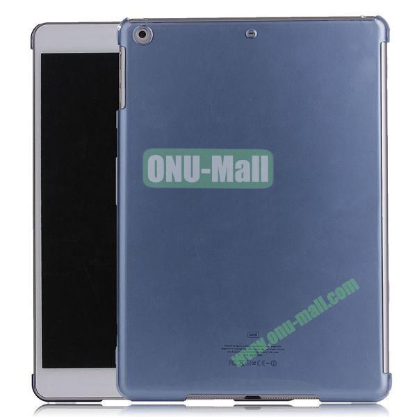 Simple Design Protective Hard Case for iPad Air (Blue)