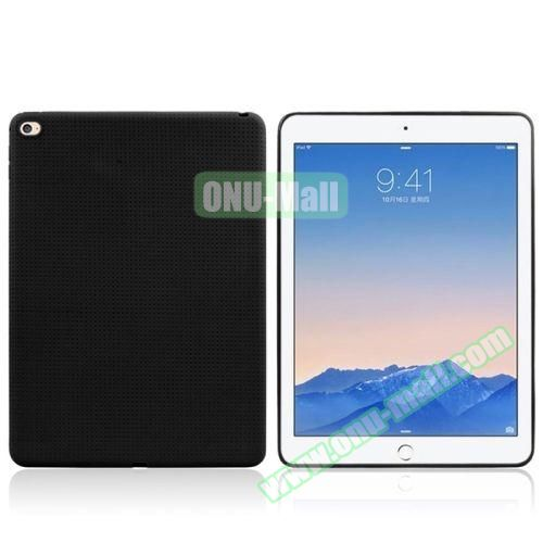 Honeycomb Pattern TPU Case for iPad Air 2 (Black)