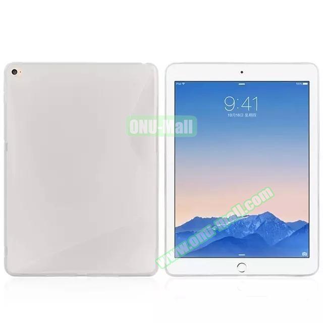 S Line Soft TPU Case for iPad Air 2 (Transparent)