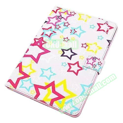 Beautiful Pattern Stand  Flip PU Leather Case for iPad Air 2 (Color Stars)
