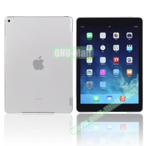 Pure Color Protective Plastic Hard Case for iPad Air 2 (White)
