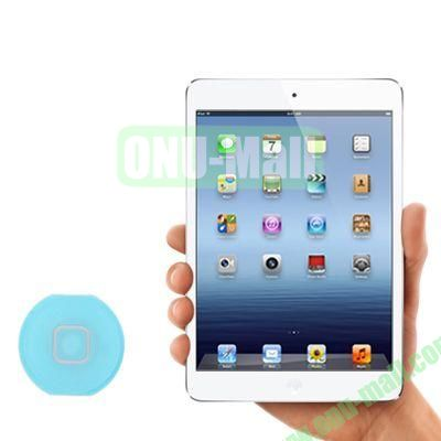 Home Button Key Replacement for iPad Mini (Blue)