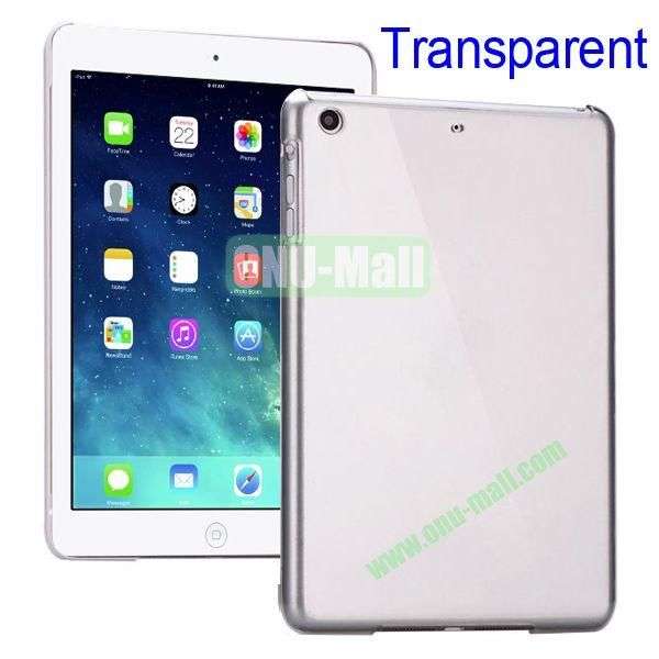 Compact Style Protective Hard PC Back Case for iPad Air (Transparent)