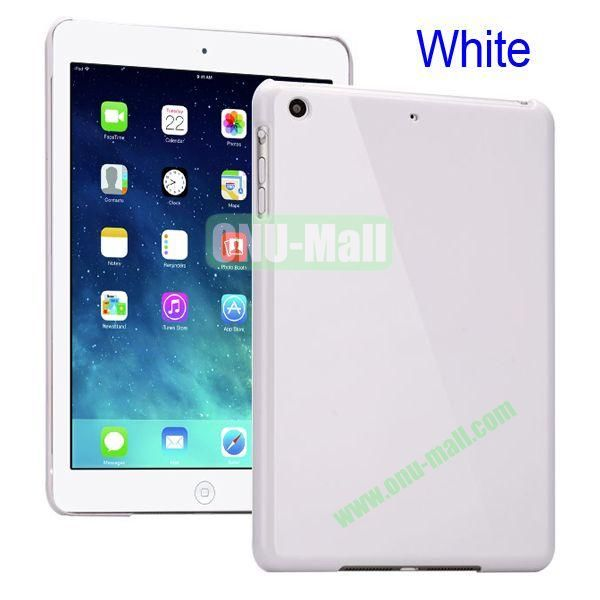 Compact Style Protective Hard PC Back Case for iPad Air (White)