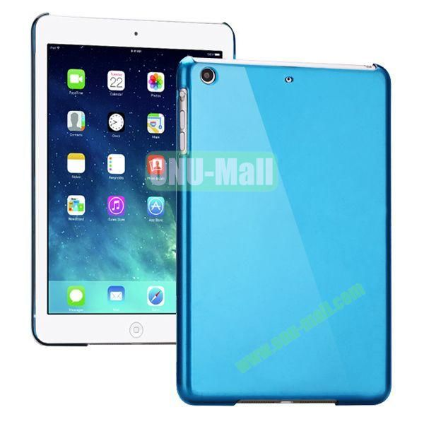 Compact Style Protective Hard PC Back Case for iPad Air (Blue)