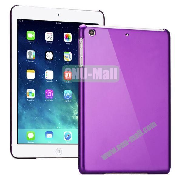 Compact Style Protective Hard PC Back Case for iPad Air (Purple)