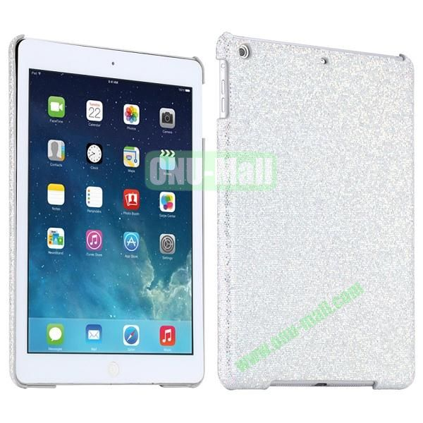 Bling Bling Rhinestone Studded Hard Case For iPad Air (White)