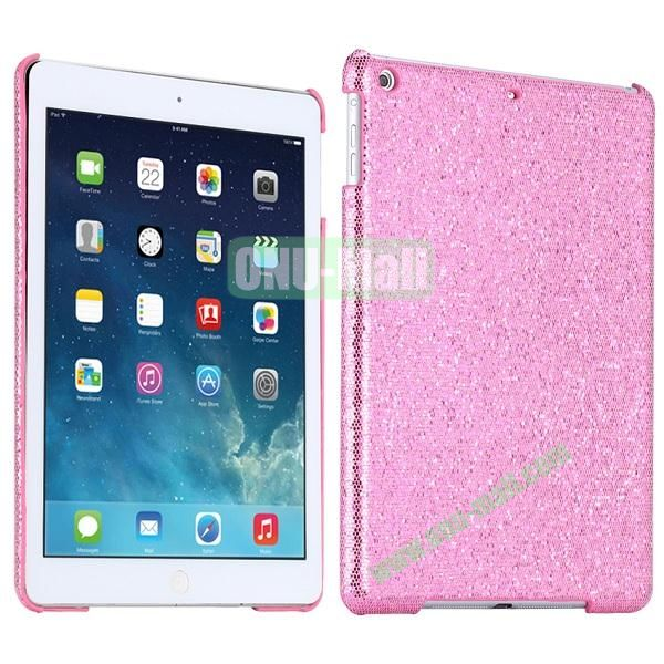 Bling Bling Rhinestone Studded Hard Case For iPad Air (Pink)