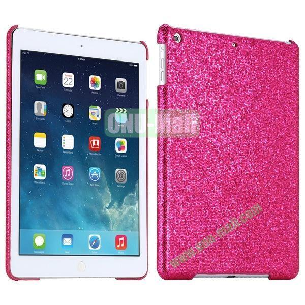 Bling Bling Rhinestone Studded Hard Case For iPad Air (Rose)