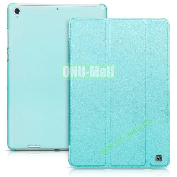 HOCO Tri-fold Flip Stand Leather Case for Xiaomi MiPad A0101 (Green)