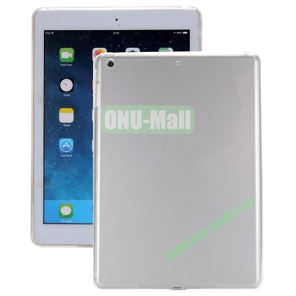 Ultrathin Transparent PC and TPU Hybrid Case for iPad Mini iPad Mini 2 (Transparent)