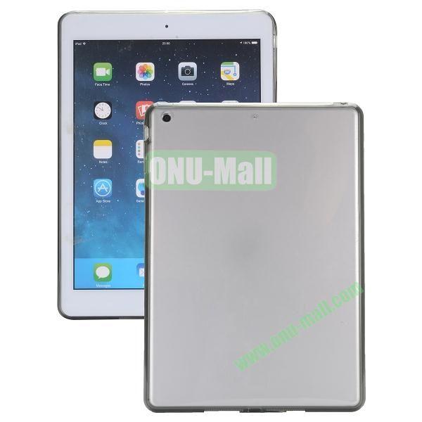 Ultrathin Transparent PC and TPU Hybrid Case for iPad Mini iPad Mini 2 (Grey)