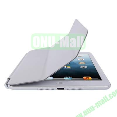 3-Folding Smart Cover for iPad Mini Retina (Light Grey)