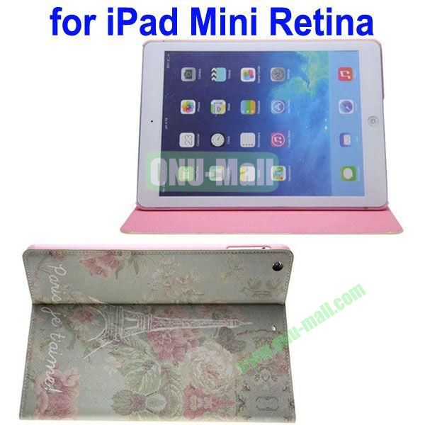 Cartoon Pattern Leather Case for iPad Mini 2Mini RetinaiPad Mini 3 with Holder