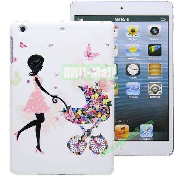 High Quality Cartoon Pattern Umbrella Hard Plastic Case for iPad Mini 2  iPad Mini 3