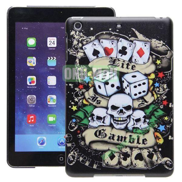 High Quality Cartoon Pattern Diablo Series Hard Plastic Case for iPad Mini Retina iPad Mini 2  iPad Mini 3