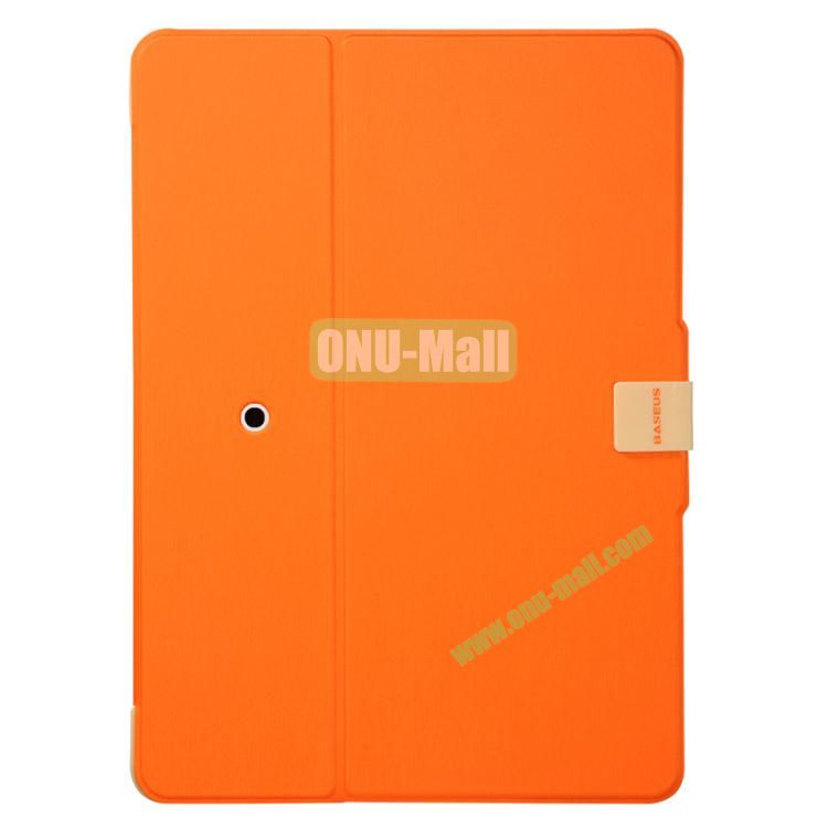 BASEUS Luxurious Brushed Smart Cover for iPad mini 2  iPad Mini 3 with Stand (Orange)