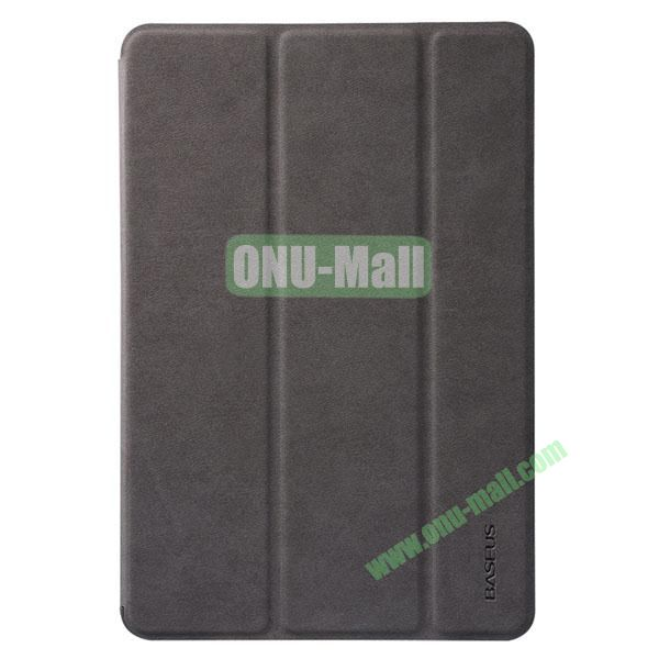 BASEUS Simplism Series Tri-fold Stand Smart Leather Case for iPad mini 2  iPad mini  iPad Mini 3 (Brown)