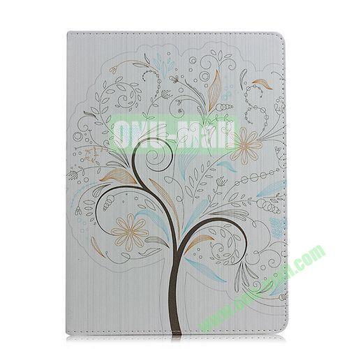 Tree Pattern Flip Stand PC+ Leather Case for iPad Mini Retina  iPad Mini 3