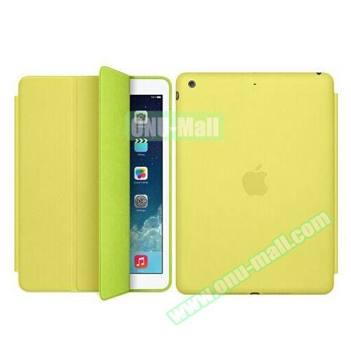 Official 3-folding Smart Case for iPad Mini 3 (Green)