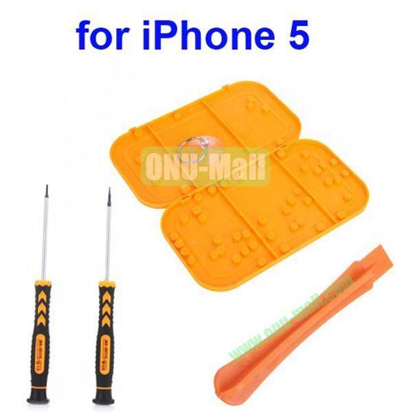 6 in 1 Professional Versatile Hardware Screwdriver Pry Open Repair Tool Kit for iPhone 55S