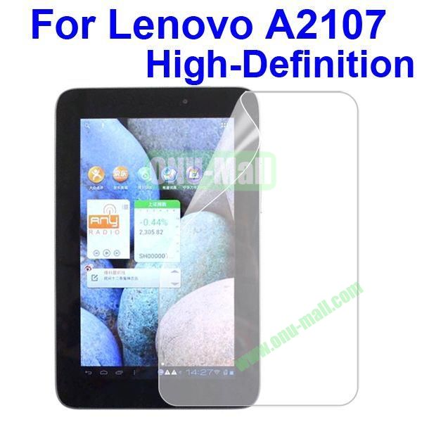 Film Guard Screen Protector For Lenovo A2107 (High Definition)