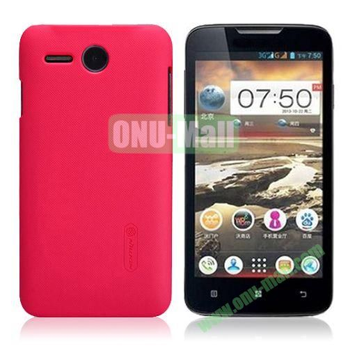 NILLKIN Frosted Oil Coated Hard Case for Lenovo A680 (Rose)