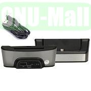 Data Sync Charger Cradle Dock for LG Optimus G Pro E985 F240 F240K with Spare Battery Slot (Grey)