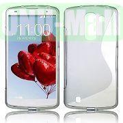 S Shape Design TPU Case for LG Optimus G Pro 2  F350  D837 (Grey)