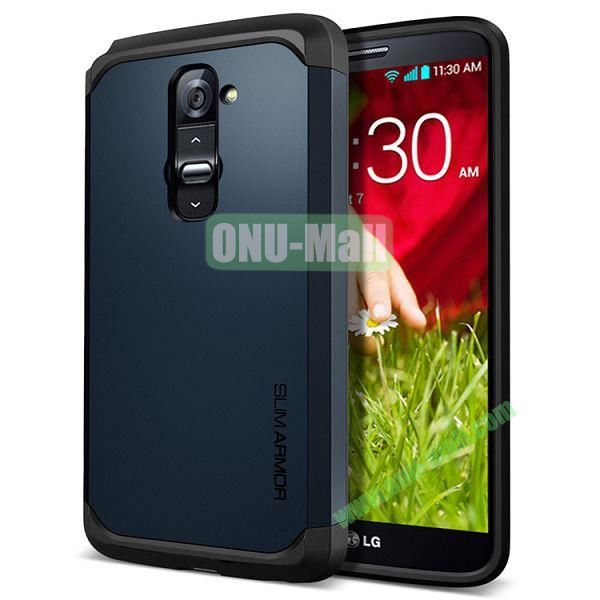 New Arrival Hard Protective Phone Case for LG G2(Dark Blue)