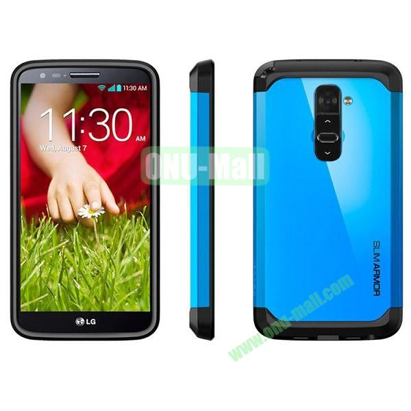 New Arrival Hard Protective Phone Case for LG G2  (Blue)