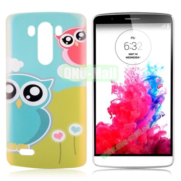 Special Pattern Hard PC Case for LG G3 D850 LS990 (Funny Owls)
