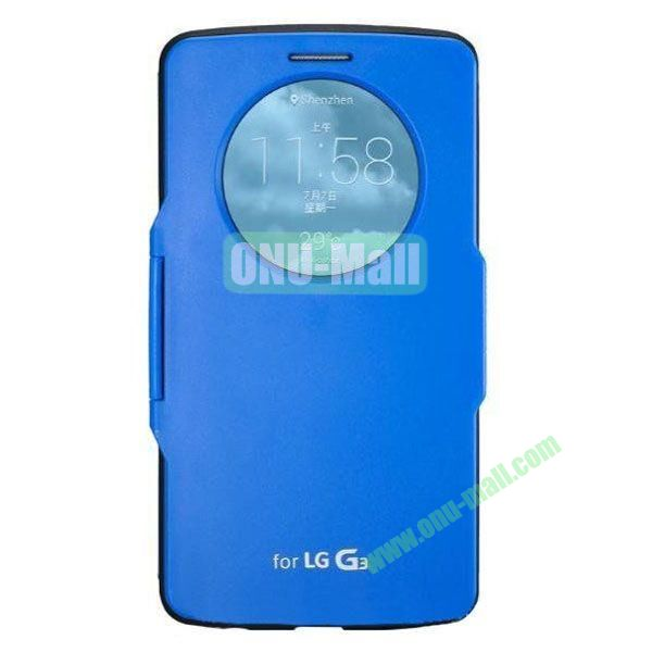 Imitation Official 3 in 1 PC + Leather Cover Case for LG G3 D850 (Blue)