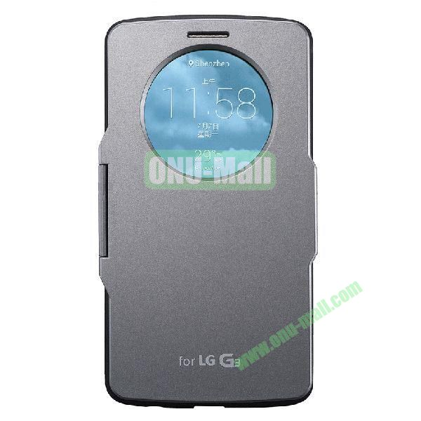Imitation Official 3 in 1 PC + Leather Cover Case for LG G3 D850 (Grey)