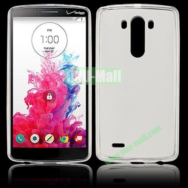 Hot Sale Transparent TPU Case for LG G3  D850  LS990 (Transparent )
