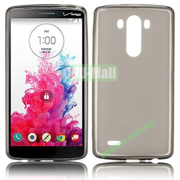 Hot Sale Transparent TPU Case for LG G3  D850  LS990 (Grey)