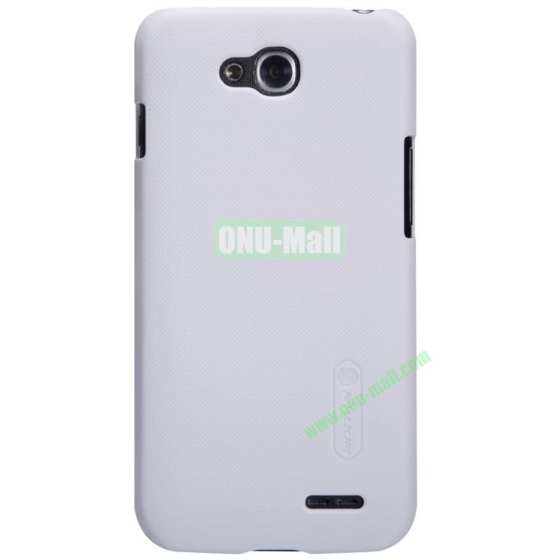 Nillkin Frosted Shield Series Plastic Hard Case for LG L90 (White)
