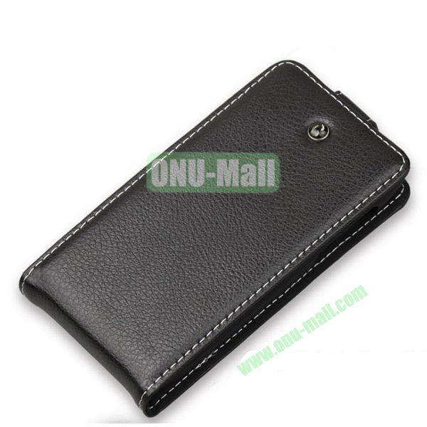 Wearable Up and Down Flip Genuine Leather Case for Lenovo P770