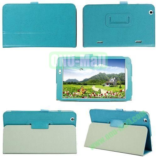 Crazy Horse Texture Flip Stand Leather Case for LG G Pad 8.3 with Pen Holder (Green)