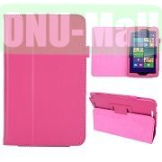 Hot Selling Lichee Texture Leather Case for ASUS Vivo Tab Note 8M80TA ( Pink )