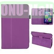Hot Selling Lichee Texture Leather Case for ASUS Vivo Tab Note 8M80TA ( Purple)