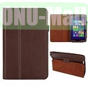 Hot Selling Lichee Texture Leather Case for ASUS Vivo Tab Note 8M80TA ( Brown)